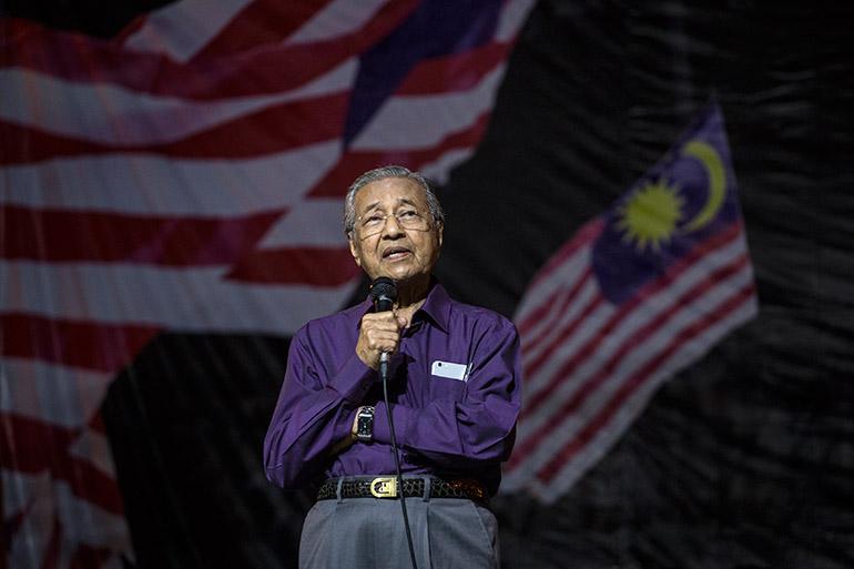 mahathir-malaysian-flag